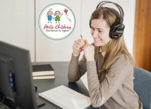 Hello Children pacchetto 10 ore di conversazione online